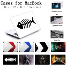 Funda para ordenador portátil para Macbook Air Pro Retina 12 13 15 funda para Apple MacBook Case Pro 13,3 15,4 Touch Bar funda para teclado A2159(China)