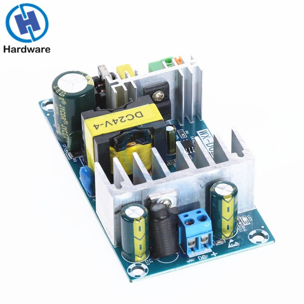 1 Uds 100-240VAC a DC 24V 4A 6A módulo del interruptor de la fuente de alimentación 100W AC-DC Fuente de alimentación de tira impermeable ultrafina LED IP67 45 W/60 W/100 W/120 W/150 W/200 W/250 W/300 W transformador 175V ~ 240V a DC12V 24V