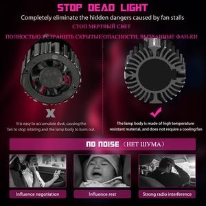 Image 5 - NOVSIGHT Mini Car H4 LED H7 led Headlight Bulbs H1 H8 H11 LED Lamp H7 12v 24v 9005 HB3 9006 HB4  Auto Headlamps Fog lights Kit