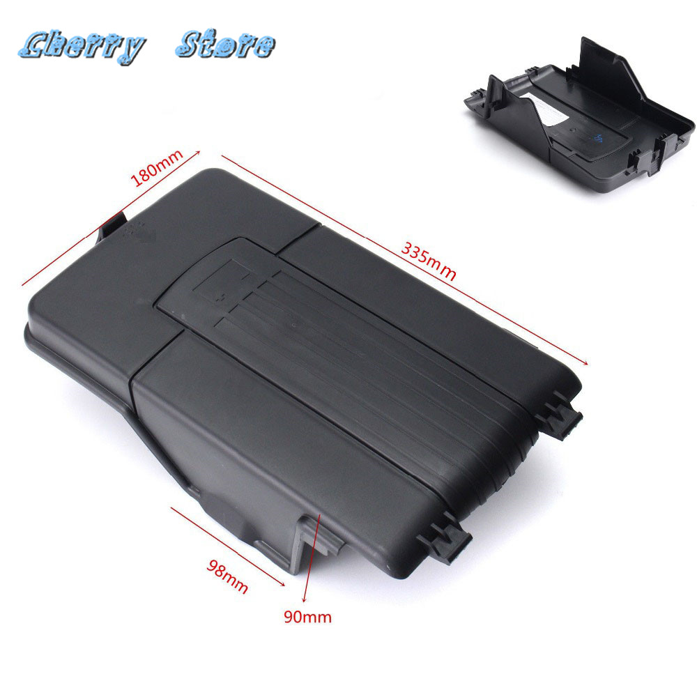 NEW 3C0 915 443 A Black Plastic Battery Cover Top Lid Tray For VW Jetta Golf Passat B6 Tiguan Audi A3 Q3 Skoda Seat 1K0915443A