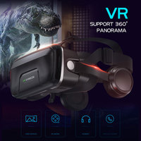 G04EA Upgraded 3D Glasses Virtual Reality Headset Game Glasses For iPhone Android Smartphone Smart Phone Goggles Gaming 3 D