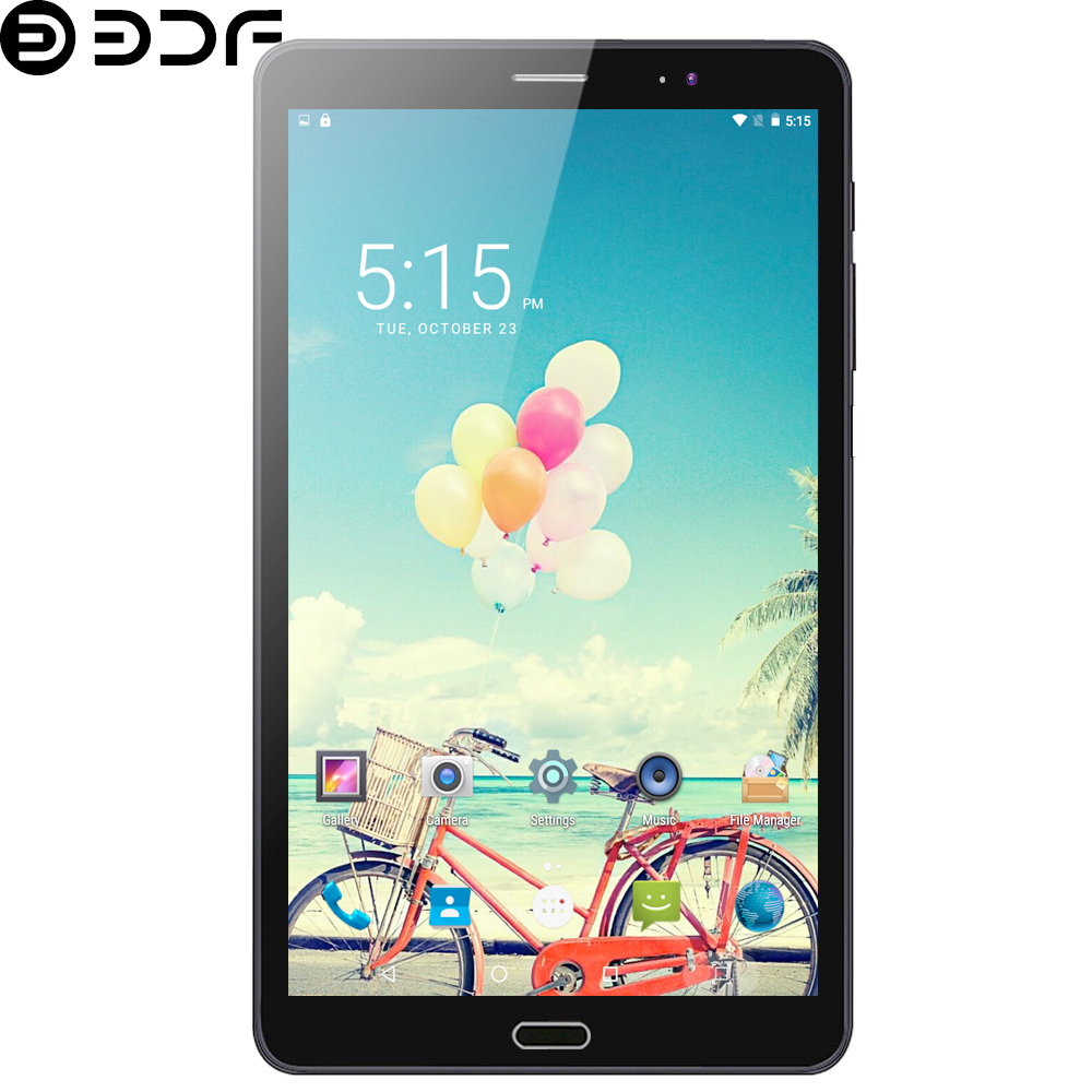 2020 New 8 Inch 3G Phone Call Tablet Pc Android 6.0 Quad Core Tablets WiFi Bluetooth Dual SIM Card Google Play Mobile IPS Screen