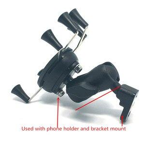 Image 5 - 65 มม.หรือ 95mm ยาวแขนซ็อกเก็ตคู่สำหรับ 1 นิ้วฐานสำหรับกล้อง GoPro จักรยานรถจักรยานยนต์ผู้ถือโทรศัพท์สำหรับ RAM MOUNT
