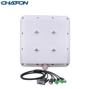 Image 2 - Chafon 5 metros rfid uhf lector ip66 impermeable 865 ~ 868mhz rs232 wg26 Relé libre SDK para aparcamiento de coches y gestión de almacenes