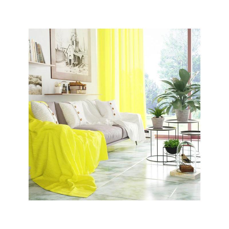 цена Plaid Euro Altali, Yellow, 220*200 cm онлайн в 2017 году