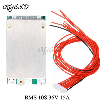 BMS 10S 36V 15A Balance Board Lithium Li-ion 18650 Battery Charge Protection PCB For Ebike Electric Bicycle image