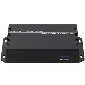 Image 4 - Decodificador de vídeo streaming, dispositivo de decodificación H.265 H.264 IP SDI a HDMI VGA CVBS, cámara IP SRT, para HTTPS RTSP RTMP UDP M3U8 HLS SRT