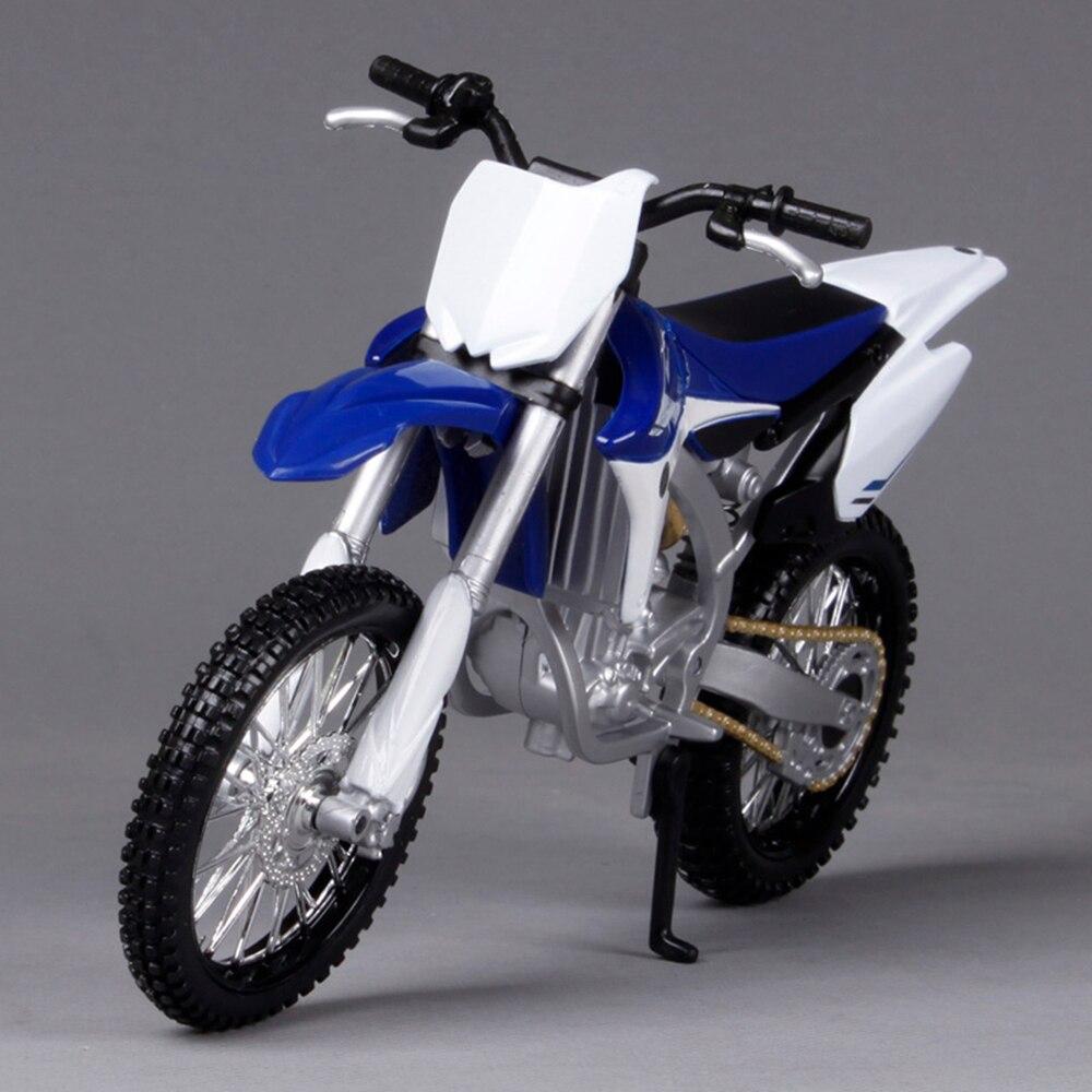 Cheap toys Gifts Maisto 1:12 YZ 450F Assemble DIY Motorcycle Bike Model Dirt Bike Toy Kit Moto Kids Toys Collection(China)