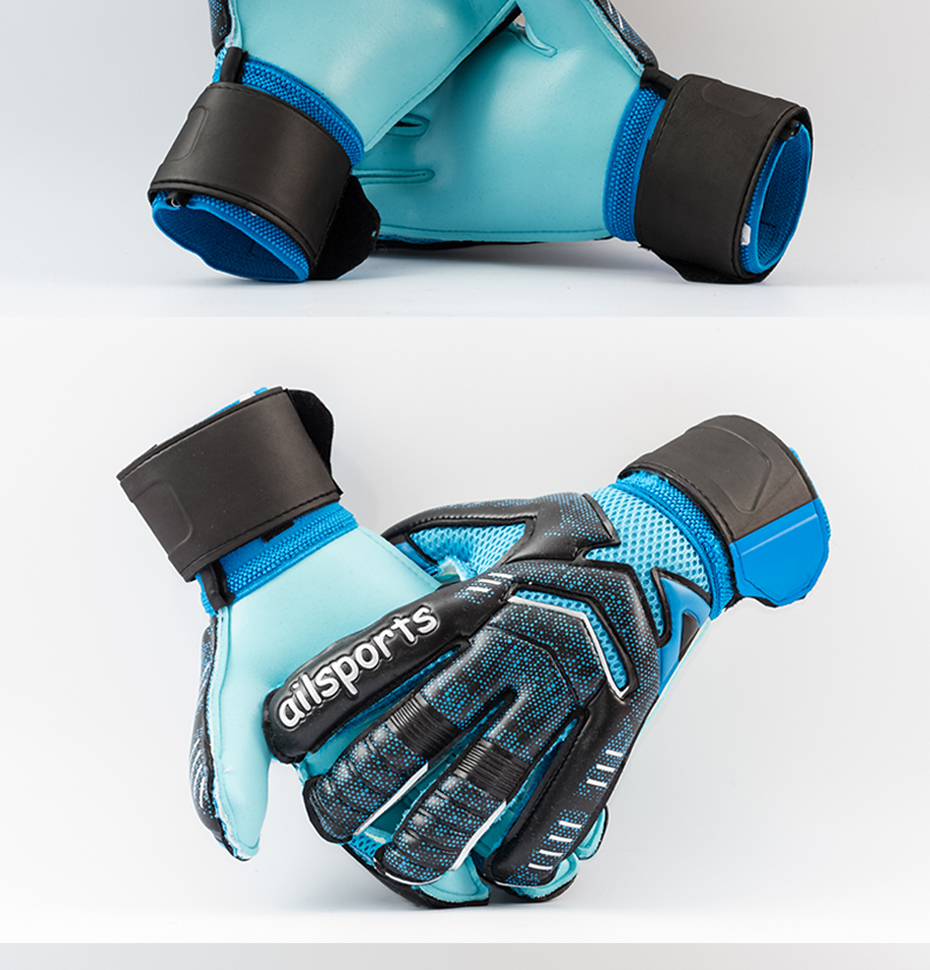 Professional Goalkeeper Gloves With Finger Protection 18