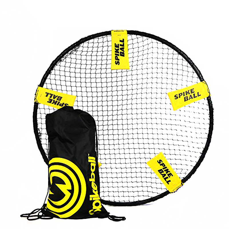 Mini Beach Volleyball Spike Ball Game Set Outdoor Team Sports Spikeball Lawn Fitness Equipment With 3 Balls in Volleyballs from Sports Entertainment