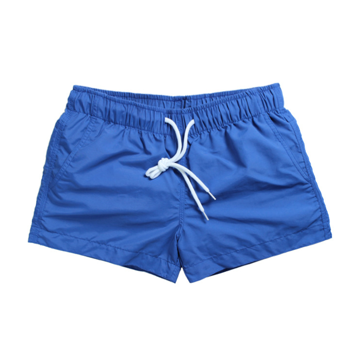 Hot Sales Nylon Shorts Men's Beach Shorts Korean-style MEN'S Athletic Shorts Quick-Drying Loose-Fit Candy-Colored Shorts