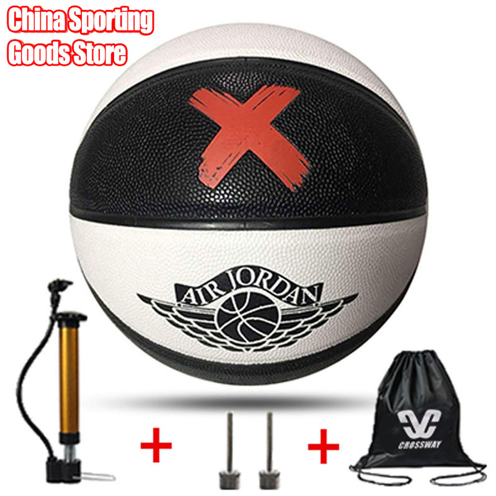High Quality Basketball, Student Prize, Birthday Gift Basketball, Standard 7 Basketball, Gift Pump + Needle + Bag