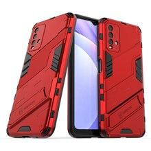 Voor Xiaomi Redmi 9 T Premium Case Hard Pc Back Panel Cool Punk Telefoon Houder Funda Mi Redmi 9 T case Redmi 9 T T9 Shockproof Cover