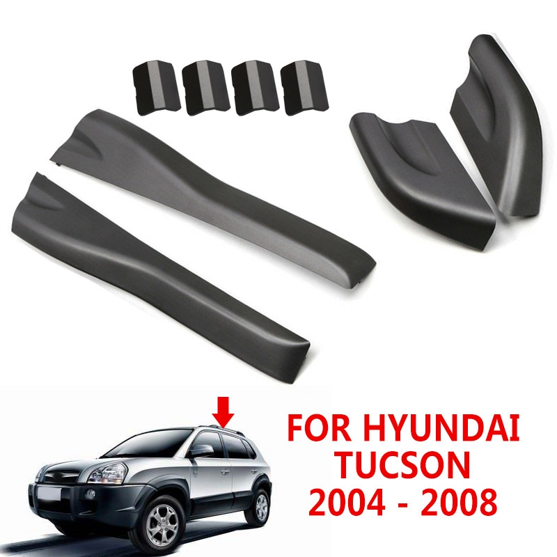 Shell Rack-End-Cover Roof-Rails Right-Roof Left Tucson Hyundai for 2004-2008 Auto-Exterior-Parts title=