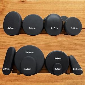 Image 3 - Tontin 핫 스톤 마사지 세트 히터 릴리프 스트레스 스파 솔란 건강 관리 용암 현무암 라운드 마사지 도구 스톤 CE RoSH
