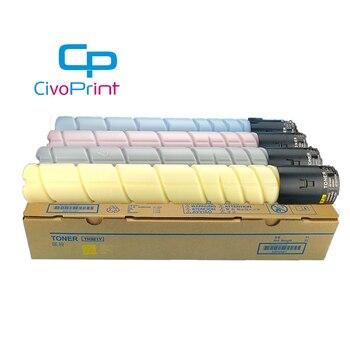 Civoprint  TN321 colour toner cartridge colour For Konica minolta bizhub C224 C284 C364 C224e C284e C364e 4pcs/set