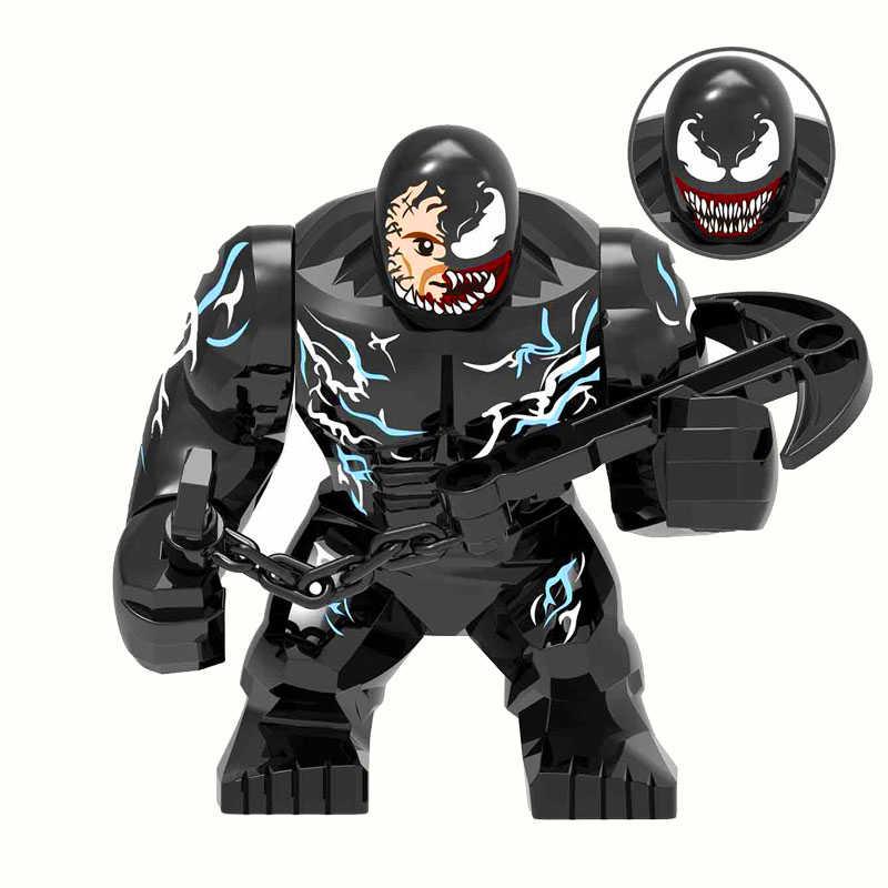 Venom Endgame superbohater figurki zabawki budowlane budowa Technic prezent dla dzieci
