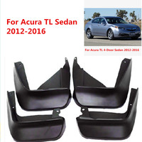 Car Mudflaps For Acura TL Sedan 2012 2013 2014 2015 2016 Splash Guards Mud Flap Mudguards Fender Car Styling Accessories