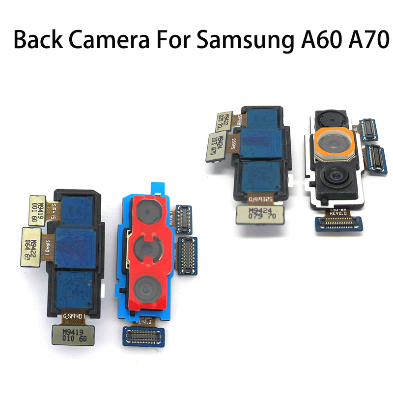 Back Camera Flex Cable For Samsung Galaxy A60 A606F 6060 A606Y A70 A705 Rear Front Main Big Small Camera Module Flex Camera