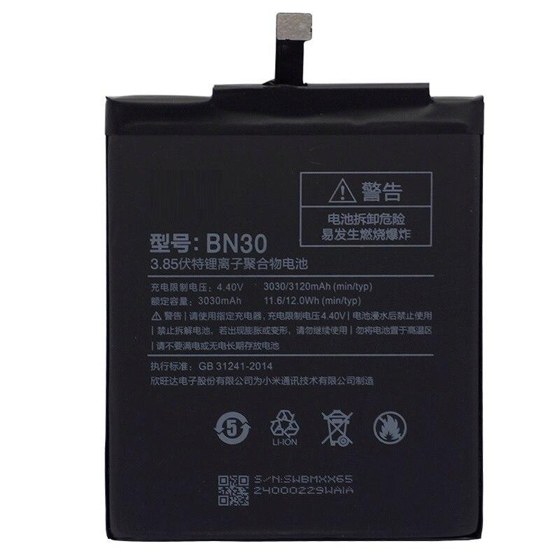 BN30 батарея для Xiaomi Redmi 4A 3120mAh Redrice Hongmi 4A литий-полимерная Замена Bateria бесплатные инструменты для ремонта