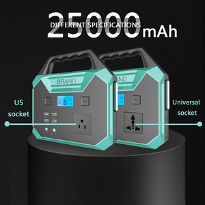 25000mAh High Power Car Jump Starter 12V Portable Starting Device Power Station 100W Power AC output Car Charger Battery Booster