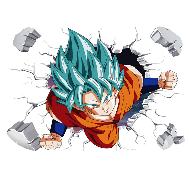 3D Broken Hole Goku 6