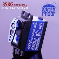 1 X Wasserdichte servo SPT 5435LV 180W Update und PRO high speed metall getriebe baja 35KG/6V digital servo für 1/8 1/10 Skala RC Autos
