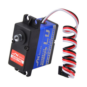 Image 5 - JX DC5821LV 21.8kg Metal Gear Digital Waterproof Servo for 1/8 1/10 RC car Scaler Buggy Crawler TRAXXAS RC4WD TRX 4 SCX10 D90