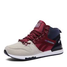 High-top casual sports shoes for men mens running athletic zapatillas hombre deportiva brand sneakers