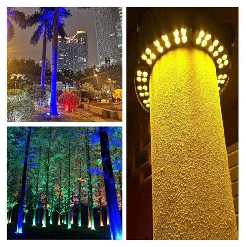caminho luzes paisagem spotlight lâmpadas de árvore