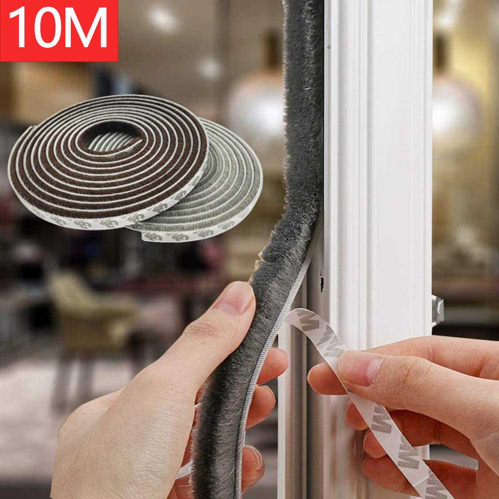 Waterproof Collapsible for Door and Window-Black GANCHUN Door Draft Stopper 35 inches,Sound Reduction Dust Proof Under Door Weather Stripping,Energy Saving Door Seal