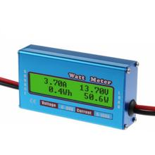 Digital Monitor LCD Watt Meter 60V/100A DC Ammeter High Accuracy RC Battery Amp Analyzer Tool Power Energy Watt Meter(China)
