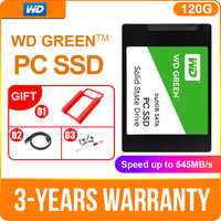 Western Digital WD SSD GREEN PC 120GB 240GB Internal Solid State Drive 480GB 1TB laptop SSD SATA 6GB/s for Laptop