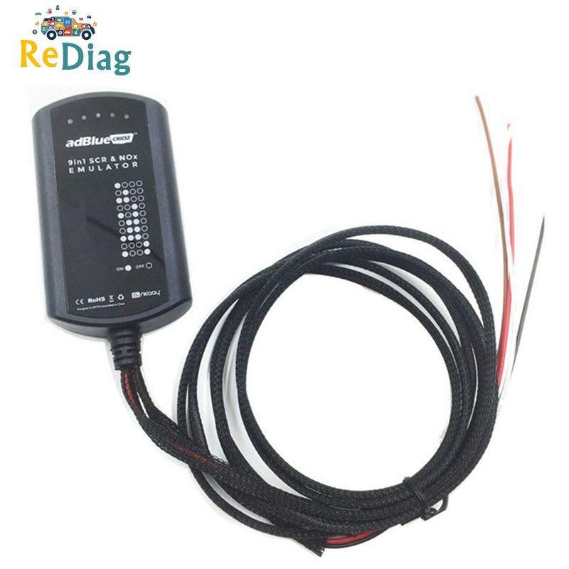 Emulator Adblue 9 w 1 narzędzie diagnostyczne emulacji ciężarówki dla Volvo/dla IVECO/dla DAF/ Renault Emulator Adblue 9w1 OBD2 Truck Tool