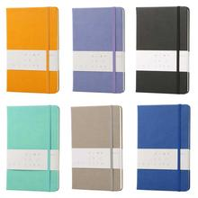 Bullet Journal For Planning Line Pages Notebook A5 Cloth Cover Bullet Journal 96 Sheets 6 Colors Office&School Supplies Planner