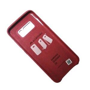 Image 5 - 삼성 s8 케이스 원래 럭셔리 스웨이드 가죽 케이스 전체 수호자 shockproof 갤럭시 s8 s8 플러스 커버 삼성 갤럭시 s8 + 케이스