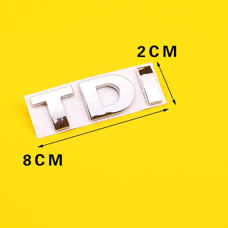 Подходит для Volkswagen Модифицированная пластиковая Автомобильная наклейка tsi tdi боковая этикетка Tail Tag автомобильные Логотипы эмиссионные стандартные спортивные