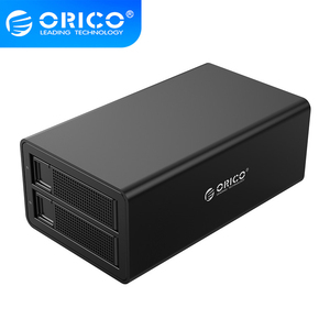 ORICO 35 Series 3.5 inch 2 Bay HDD Docking Station Capacity Single disk 16TB, supports 32TB Max,For 2.5 3.5 Inch Hard Drive