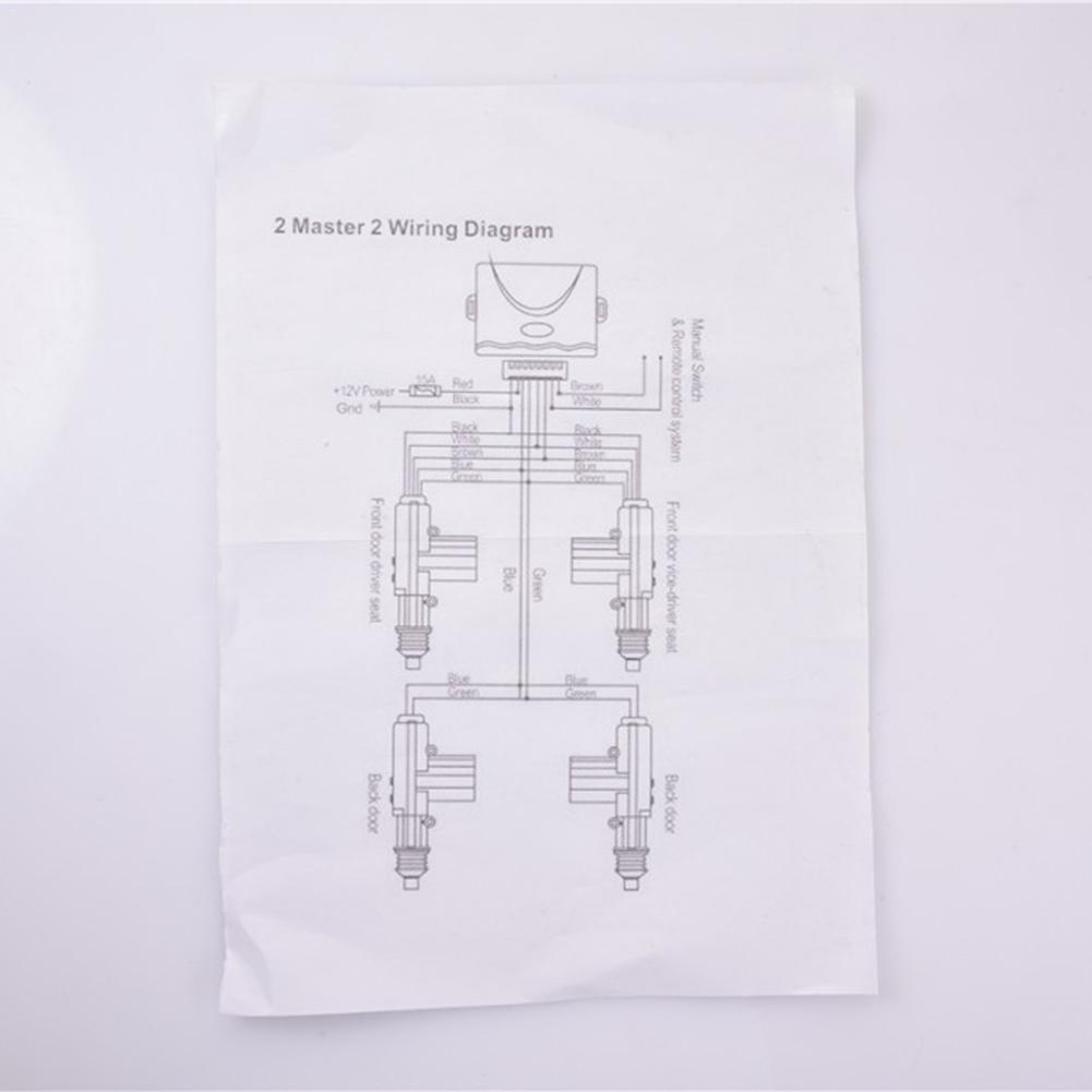 Универсальный 2 шт Автомобильный Центральный замок 2/4 дверной пульт дистанционного управления без ключа комплект дистанционного центрального замка система входа без ключа