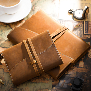 Image 4 - 100% Genuine Leather Notebook Planner Book Cover A5 A6 Size For MD Diary Original Journal Drawing Sketchbook