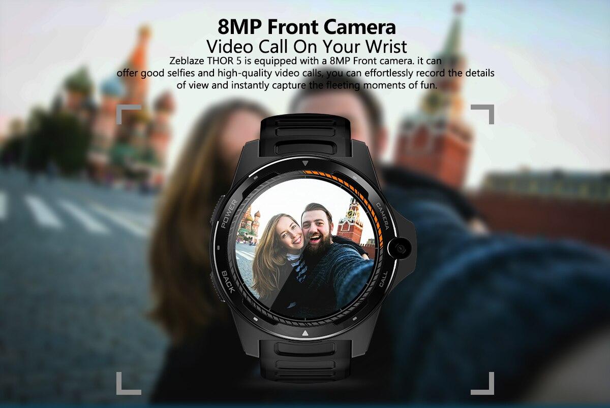 + 16gb 8.0mp câmera frontal relógio inteligente telefone