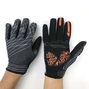 Image 3 - Nonskip Motorcycle Gloves For KTM Racing LOGO Unisex Touch Screen Motocross Gloves Breathable Cycling Racing Riding Motorbike