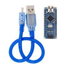 50 stücke Nano 3.0 + 50 stücke USB Kabel ATmega328 Bord CH340G für arduino