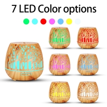 Aroma Diffuser 400ml, LED Ultrasonic Fragrance Diffuser  with Remote Control