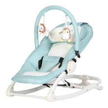 CHBABY Baby Rocking Chair European Aluminum Tube Baby Multi-function Folding Chair Cradle A604A Luxury  Swinging Chair