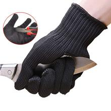 Anti-cut Gloves Safety Cut Proof Stab Resistant Stainless Steel Wire Metal Mesh Kitchen Butcher Cut-Resistant Safety Gloves D40
