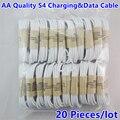20 шт./лот зарядный кабель для телефона Android Micro USB круглый шнур для зарядки шнур для синхронизации данных для телефонов Samsung S4 Huawei Xiaomi