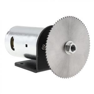 Image 2 - Набор для циркулярной пилы, 24 В, 555 дюйма, с шарикоподшипником, монтажным кронштейном и лезвием для пилы 60 мм для резки, полировки и гравировки