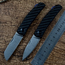 ZT0230 0235 Slip-Joint carbon fibre G10 Handle Stainless steel Blade Pocket Knives for Survival EDC camping folding knife tool
