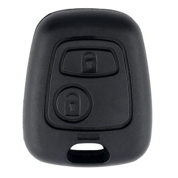 Klucz zdalny z dwoma przyciskami obudowa kluczyka do samochodu dla Citroen C1 C2 C3 C4 XSARA Picasso dla Peugeot 307 107 207 407 obudowa wymienna pokrywa tanie i dobre opinie CN (pochodzenie) China Car Key Shell Auto Parts 1 7CM 4 5CM ABS plastic 3 7CM for Citroen C1 C2 C3 C4 XSARA Picasso 4 5 * 3 7 * 1 7cm 1 8 * 1 5 * 0 7Inch